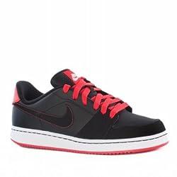 Nike Men's Round Neck Cotton Sweatshirt (823229467269_545164-012_Small_Black)