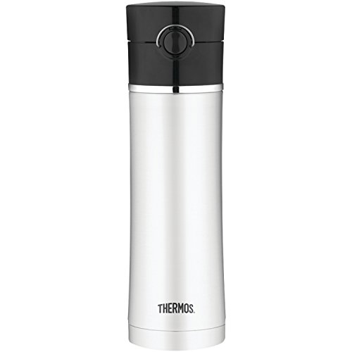 Thermos NS402BK4 Sipp Leak-Proof Drink Bottle, 16-Ounce (Black)