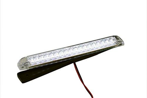 LED Bar Light - Heavy Duty, Water resistant 12 Volt DC LED courtesy convenience lamp, Warm White LEDs, 8