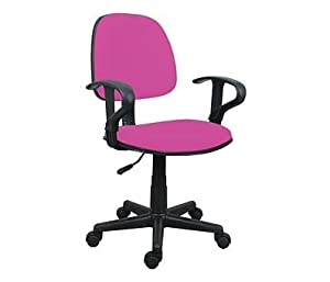 hot pink office chair with arms comforable kitchen