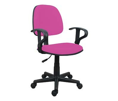 BRAND NEW PINK OFFICE CHAIR WITH ARMS LIVING ROOM / HOME