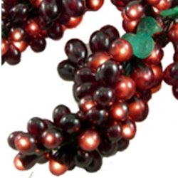 Outdoor String Lights Grapes : Amazon.com : Grape Vine Lights, 5 Clusters, 100 Mini Bulbs String, Outdoor, BURGUNDY : Patio ...