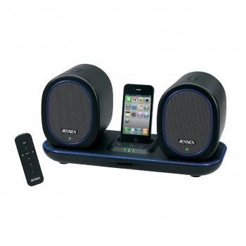 Exclusive Jensen Jiss-600I Docking Digital Music System With Wireless Speakers For Ipod And Iphone By Spectra