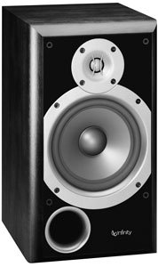 Infinity Primus Two-way 6 1/2-Inch Bookshelf/Satellite Speaker (Black, Each)