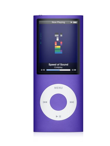 Apple iPod nano 16 GB Purple (4th Generation) OLD MODEL