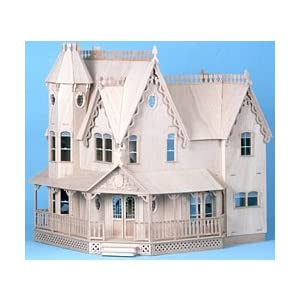 Pierce Wooden Dollhouse Kit