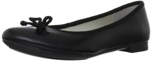 Clarks Carousel Ride, Ballerine donna, Nero (Black Leather), 41