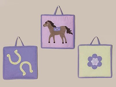 Pretty Pony Horse Wall Hanging Accessories by JoJo Designs