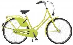 "Holland Nostalgie Damen ""Eco"" Fahrrad, neongrün, 55 cm"