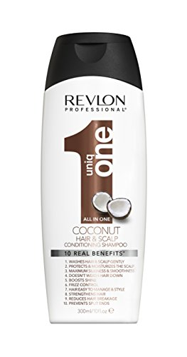 revlon - shampooing uniq one coconut baume soin hair and sclap conditioning shampoo 300 ml gamme revlon professional