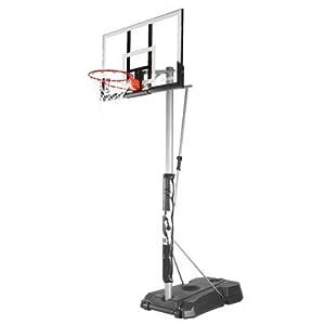 Spalding NBA Hercules Vertical Pole Portable Basketball Hoop - 52