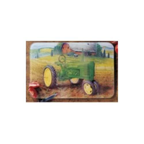 JOHN DEERE GLASS CUTTING BOARD 10 x 8 kitchen decor