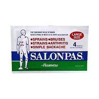 Salonpas Pain Patch, Large 4 ea