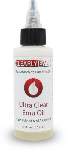 CLEARLY EMU Ultra Clear Emu Oil 2 oz AEA Certified