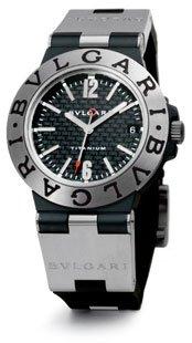 Bvlgari Diagono Unisex Watch TI38BTAVTD/SLN