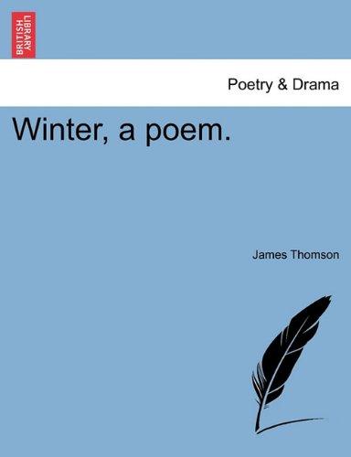 Winter, a poem.