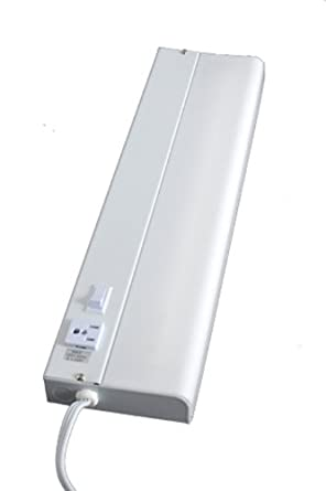 Ge Advantage Fluorescent Light Fixture With Extra Outlet 18 Inch 16546 Under Counter Fixtures