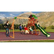 Prescott Cedar Wooden Swing Set
