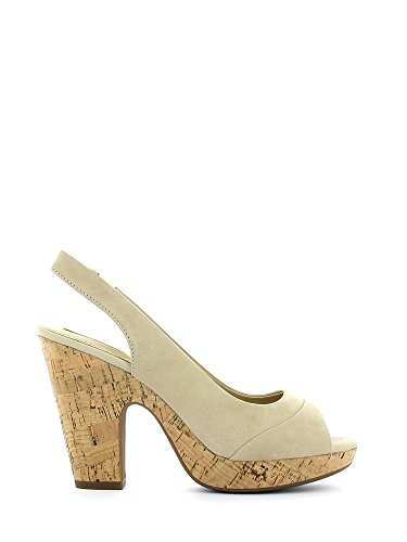Geox D5271B 000SE Sandalo tacco Donna Lt taupe 40