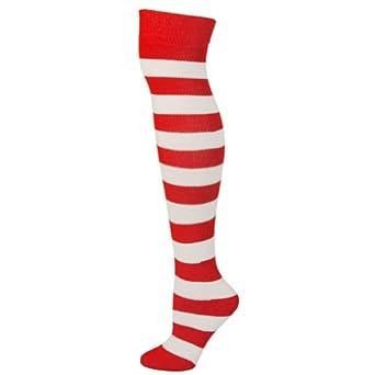 Buy AJs Adult Striped Knee Socks by AJs
