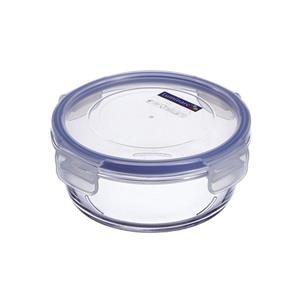 Luminarc Pure Box Active, contenitore in vetro con coperchio, rotondo, 920 ml, 1 pz