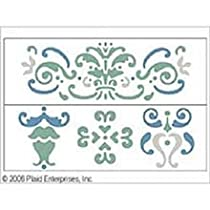 Plaid 17467 Simply Stencil, Damask
