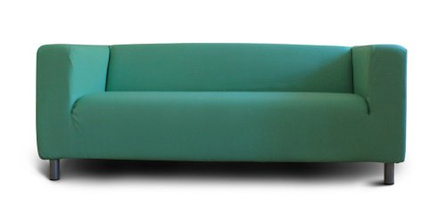 buntaneo cover fits to KLIPPAN two-seat sofa, Peapod (green), more colours available