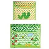 Green Sprouts Reusable Snack Bag - Garden Pattern - 2 Pack