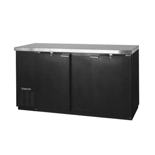 "69"" Solid Door Back Bar Storage Cooler - Continental Refrigerator Bbc69"