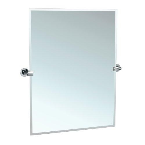 Gatco 4109S Zone Tilting Wall Mirror, Chrome