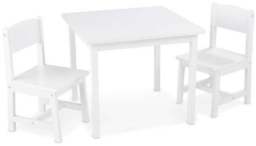 Kidkraft Aspen Table and 2 Chair Set (White)