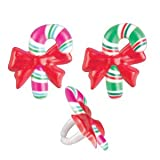 Sale 48 ~ Candy Cane Rings ~ Designer Cake/Cupcake Topper ~ New!!!!!