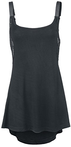 Gothicana by EMP Doll Top Top donna nero XS