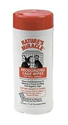 Nature\'s Miracle Deodorizing Cage Wipes 35 Ct.
