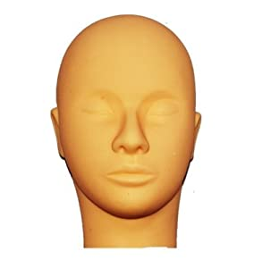 Mannequin Training Head For Makeup And Eyelash Extensions