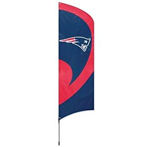 Party Animal New England Patriots Tall Team Flag by Party Animal