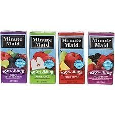 Minute Maid 100% Juice Variety - 40/ 6.75 oz. (Minute Maid Juices compare prices)
