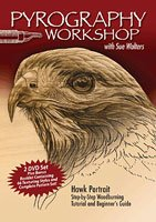 Pyrography Workshop with Sue Walters 2 DVD Set