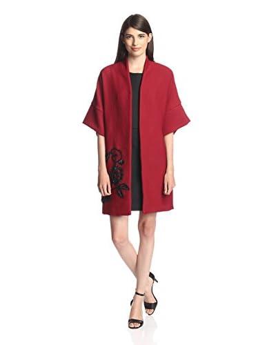 Natori Women's Embroidered Caftan Coat
