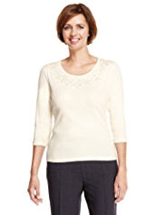 Classic Pure Cotton Cornelli Top with StayNEW™