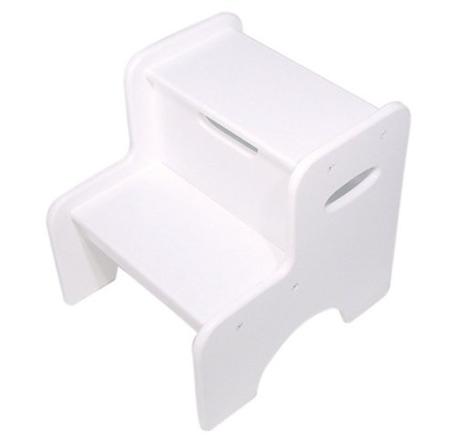 KidKraft Two Step Stool - White