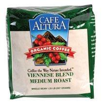 Cafe Altura Coffee Bean Vnnse Blend O 1.25 LB -Pack of 6
