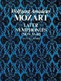 W.A. Mozart  Later Symphonies Nos.35-41 Full Score (Dover Orchestral Scores)
