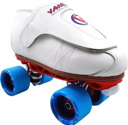 Skate Out Loud Vanilla Jam Skates Freestyle Sunlite Blueprint Boot Color: Black | Plate Color: Blue | Size: 10