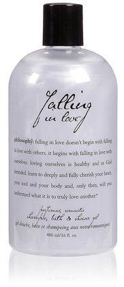 Philosophy Falling in Love Shampoo/Bath/Shower Gel, 16 Ounces