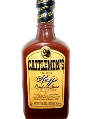 Cattlemen Honey BBQ Sauce 18 oz - 6 Unit Pack