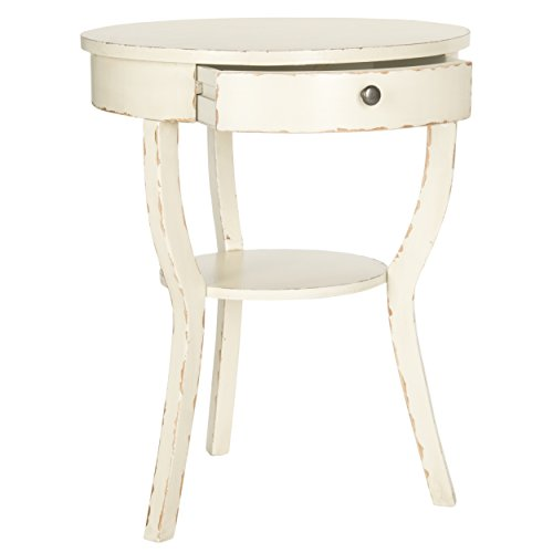 Safavieh American Home Collection Kendra Vintage Cream End Table 1