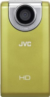 JVC Picsio GC-FM-2 Pocket Video Camera (Yellow) NEWEST VERSION