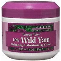 Jason Natural Cosmetics 10% Wild Yam Balancing&Moisturizing Cream, 70% Organic - 4 oz