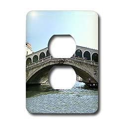 Vacation Spots - Rialto Bridge - Light Switch Covers - 2 plug outlet cover